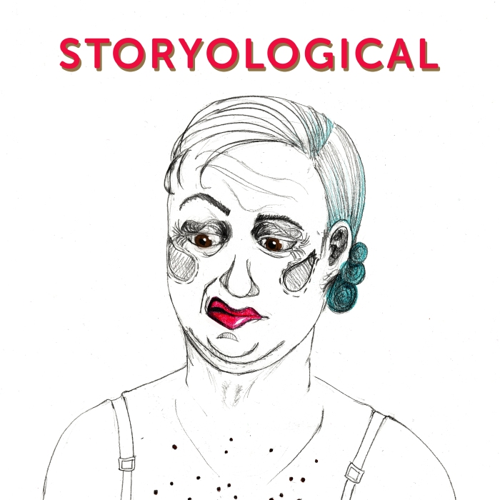 storyological podcast logo